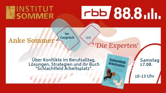 RBB 88.8 trifft Anke Sommer