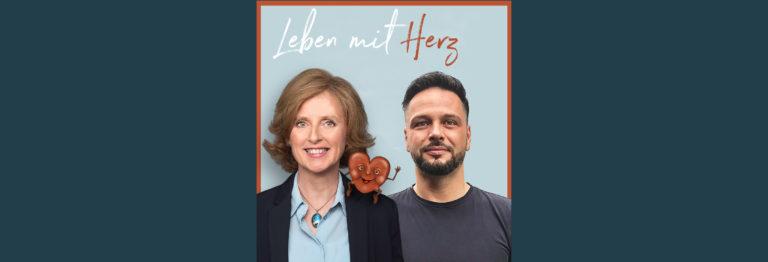 Anke Sommer und Lars-Gunnar Paul auf dem Cover von Leben mit Herz