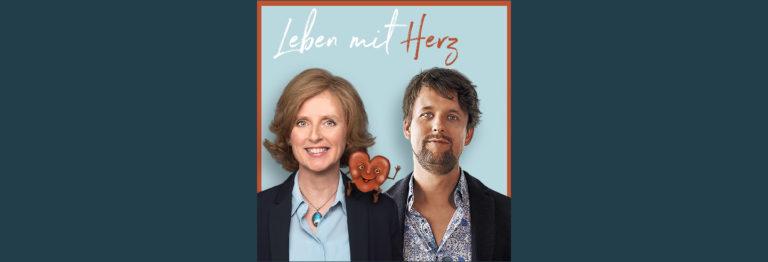 Anke Sommer und Felix Sommer auf dem Podcast-Cover von Leben mit Herz