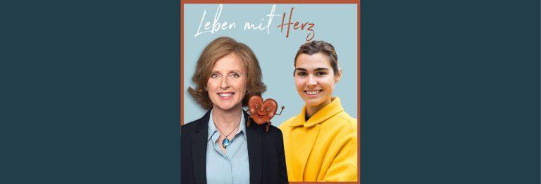 Lila Nettsträter und Anke Sommer auf dem Cover von Leben mit Herz
